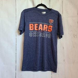 NFL TX3 Cool blue chicago bears crewneck tee shirt